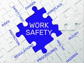 health & safety - work safety